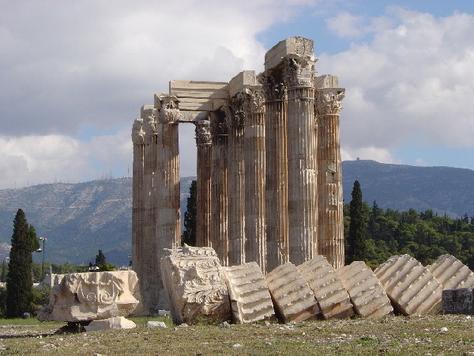 Greek Art / Temple of the Olympian Zeus