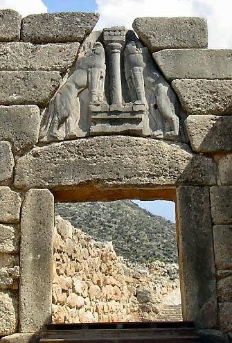 Greek Art Lion S Gate
